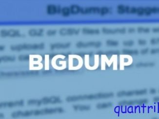bigdump import database
